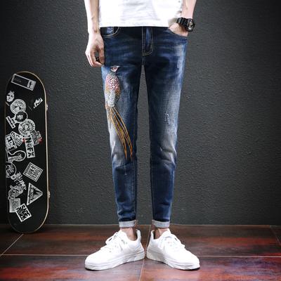2017年新款男士牛仔裤日系真模 精品男装D209-VZ1703-P110