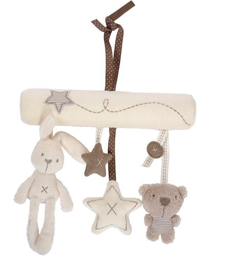 В Великобритании крупнейших оригинальной упаковки экспорта английских аристократов висячие Doll Игрушка Зайчик музыка кровати прицепы-013