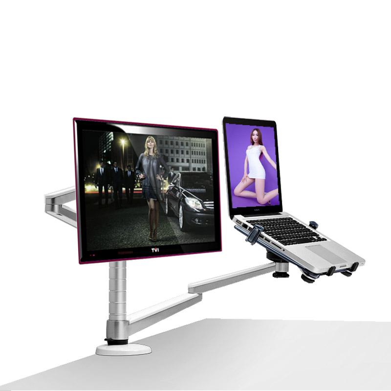 埃普OA~7X筆記本支架 顯示器支架 兩用電腦架子桌麵升降蘋果散熱