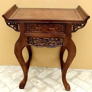 特价供桌 榆木仿古神台供台佛台佛柜供案香案条案财神桌贡桌神桌