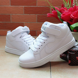 Spring flat high-top sports men and women couple shoes skateboard shoes white shoes student shoes shells Forrest Gump shoes