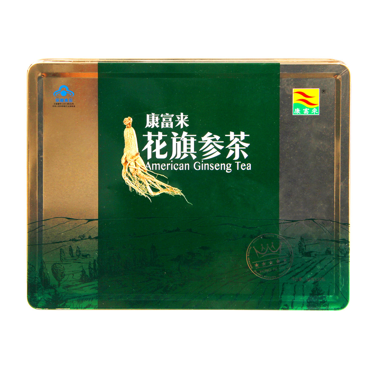Kangfulai American ginseng tea 3G / pack * 30 packs of elderly health care products gifts for elderly men and women