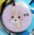 天津城市卡公交卡地铁卡企业礼品定制pvc滴胶蜡笔兔