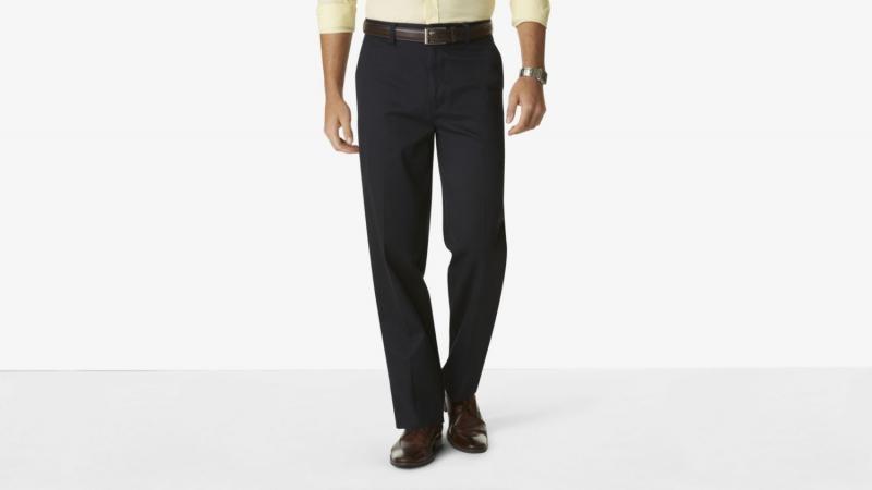 美国直邮Dockers码头工人418520006男中腰直筒防皱长裤休闲裤大码