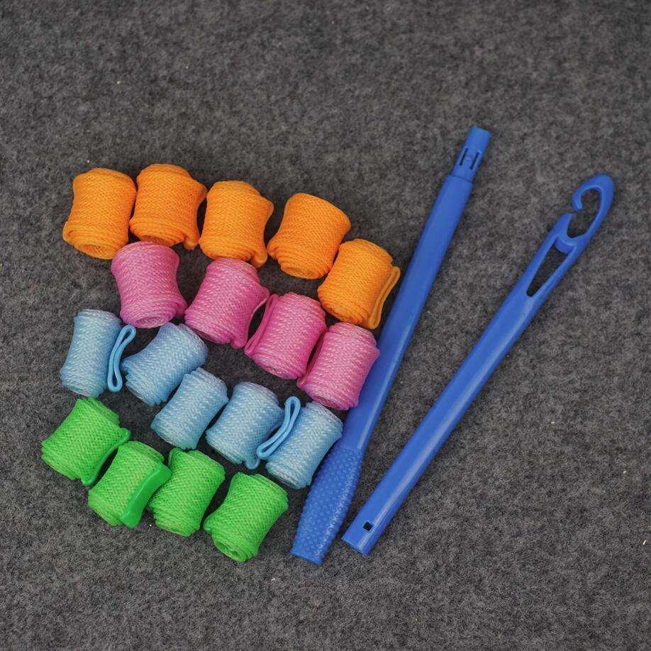 Домой DIY не больно волосы кудри устройство пластик кудри мяч груша объем улитки объем парикмахерское дело моделирование устройство