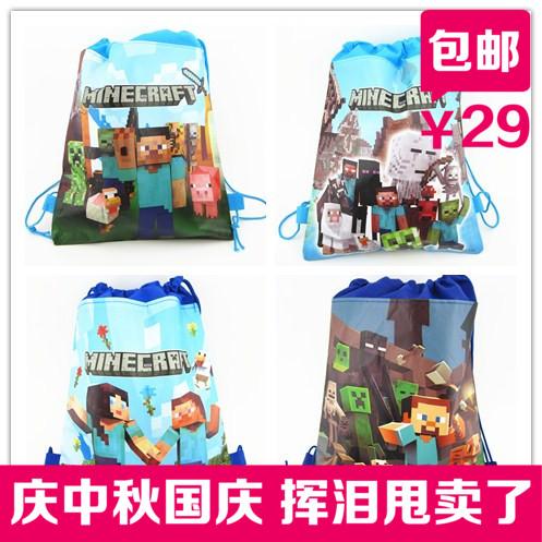 Мой minecraft Эндер мир хранения сумка рюкзак DrawString DrawString мешок в моей сумке книга мира