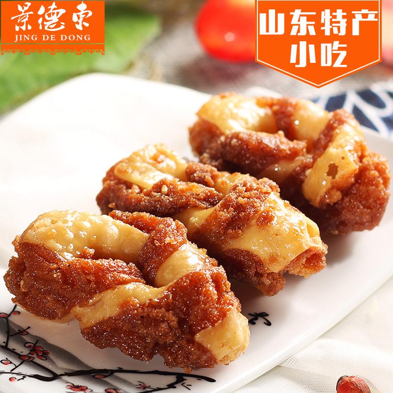 山东特产景德东红蜜食蜜三刀糕点