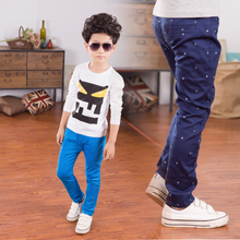 Boy's trousers thin section cuhk children's summer slacks han edition cultivate one's morality children's wear panties cotton trousers little children