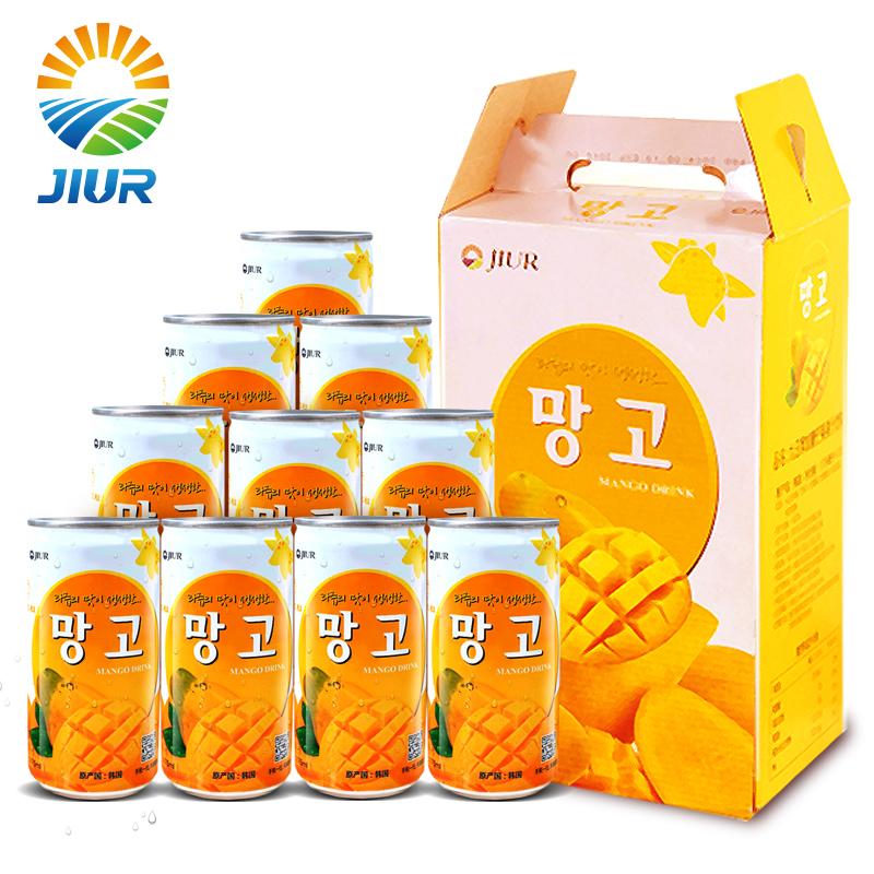 ~天貓超市~韓國 飲料 九日芒果果汁飲料甜味175ml^~15聽