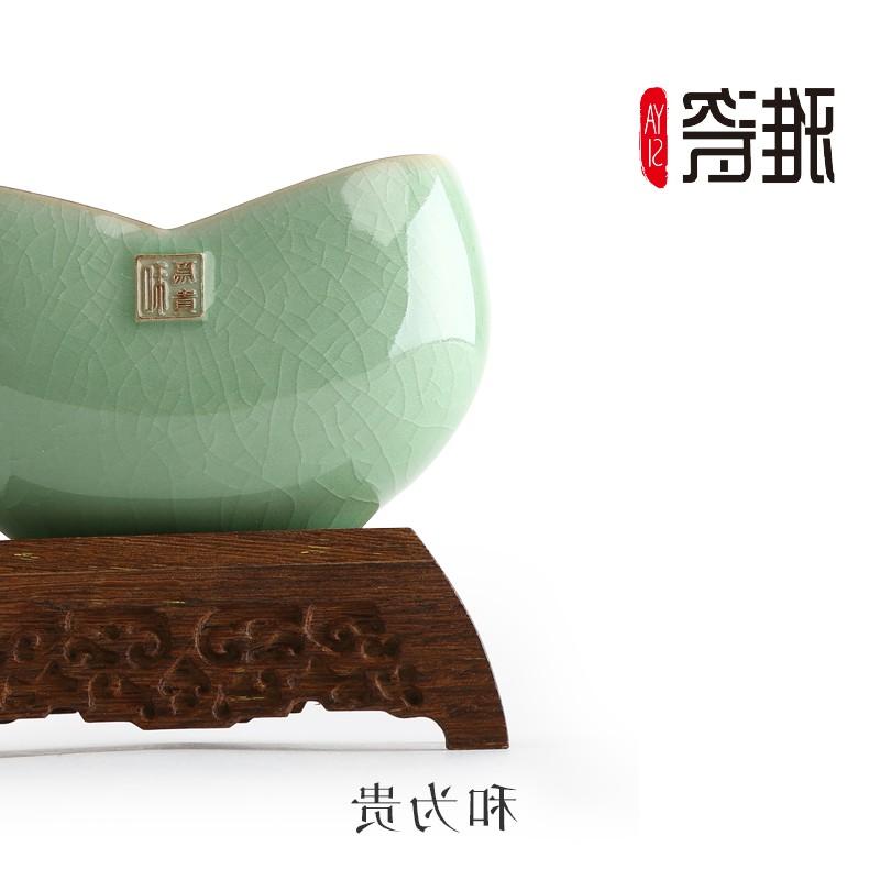 日本购【和为贵】名片夹办公室桌面摆件创意商务礼品礼物定制顺丰