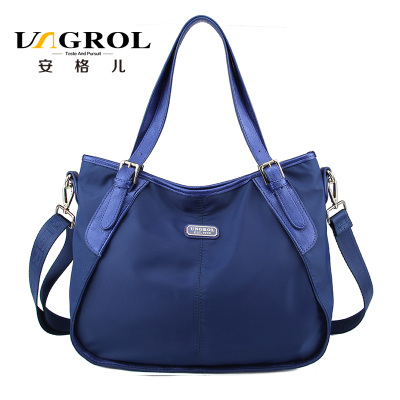 ab51d9236ec Early in 2015 the European and American fashion light luxury single shoulder  his female bag leisure nylon laptop bags UNGROL restoring ancient ways
