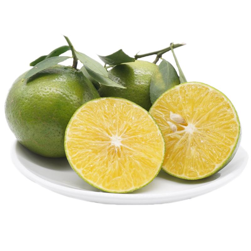 新鲜水果 广东德庆皇帝柑贡柑 柑橘橘子18-24个 5斤装 新鲜水果