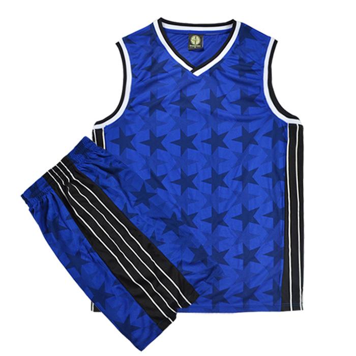暗星迷彩 麦蒂麦迪篮球服套装篮球衣训练服队服订做定制印号印字