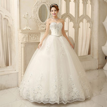 Wedding dresses 2015 Korean neat new spring set auger that wipe a bosom big yards bind cultivate one's morality show thin summer wedding dresses
