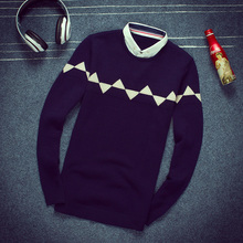 Fall 2015's new sweater Japanese holiday two han edition cultivate one's morality sweater sweater