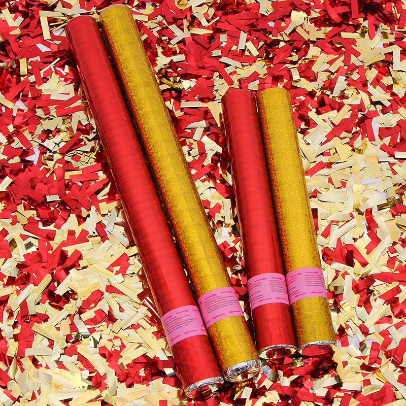 Свадьба фейерверк церемония пистолет выйти замуж фейерверк трубка свадьба фейерверк цвета ленты блестки церемония гость цветок 40 60