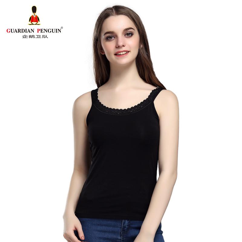 GP企鹅卫队吊带衫背心女冰丝跨栏运动打底内衣内穿女士打底衫汗衫