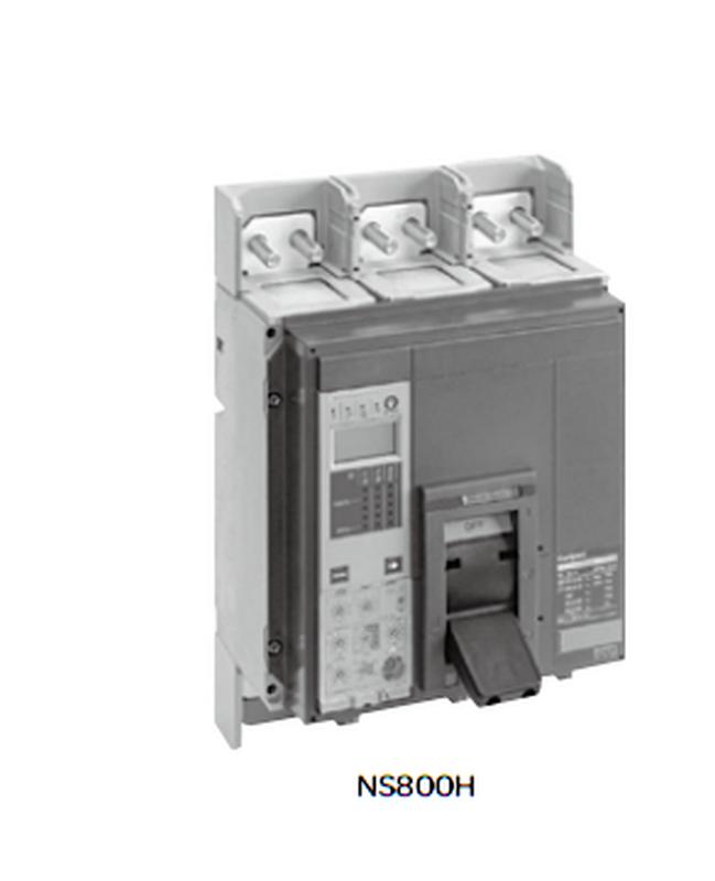施耐德空气断路器NS33466A 带旋转手柄MIC2.0  NS800 N型50KA正装