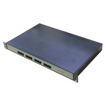 深简捷IAD8s8o断电断网逃生语音网关8口FXO8口FXSSIP关键通信