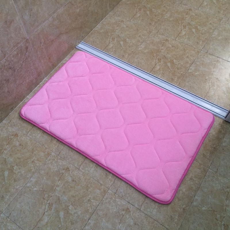德陽 加厚記憶棉慢回彈地墊地墊廚房衛生間吸水門墊防滑墊腳墊