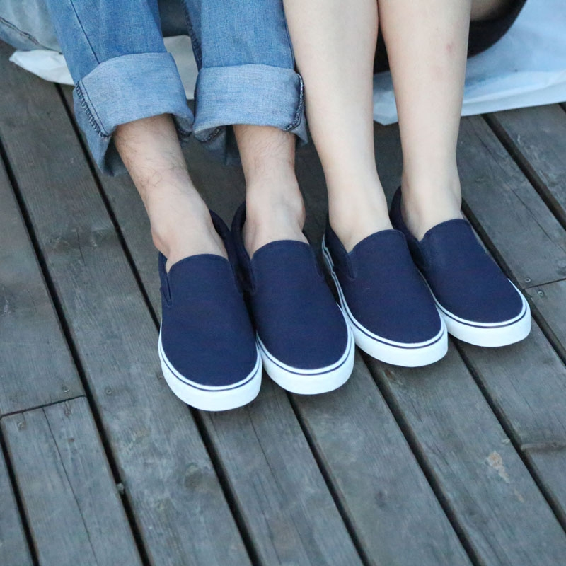 Return force new style one legged pair of canvas shoes fashionable and simple, single shoe cover foot canvas shoes light and breathable 882