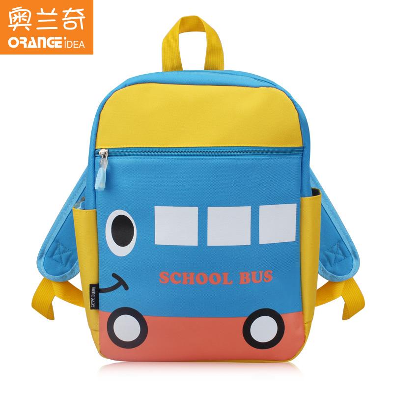 奧蘭奇小學生兒童書包幼兒園男童女童寶寶雙肩背包中班大班1~3歲6