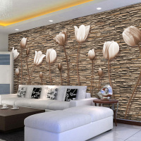 3d телевидение фон стена бумага 5d трехмерный тень внимание стена декоративный гостиная фреска спальня обои бесшовный стена ткань континентальный
