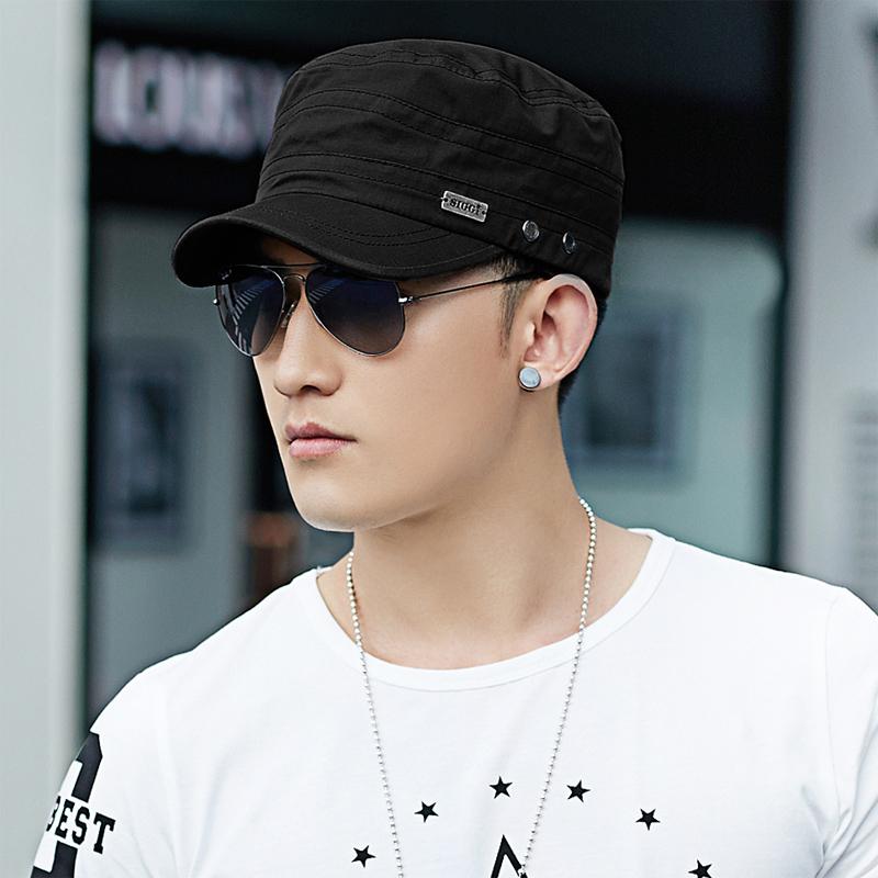 Шляпа мужчина лето затенение крышка корейская волна бейсболка фуражка на открытом воздухе солнцезащитный крем крышка солнце крышка ежиком крышка крышка