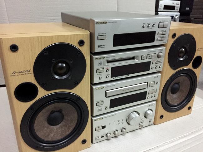 二手原装进口欧版日本安桥/ONKYO 905TX 高档HIFI 组合音响