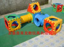 Yilong children drilling hole baby crawling tunnel plastic large-scale amusement equipment sensory equipment