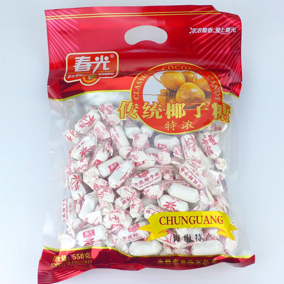 Хайнань специальности Молл, более 60 по электронной почте подлинной защиты весны традиционных кокосовых конфет (эспрессо) 550 грамм