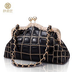 2015 new style clutch bag evening bag fat Tanner married nightclub makeup bag bride bag Bao Suokou clutch-mail