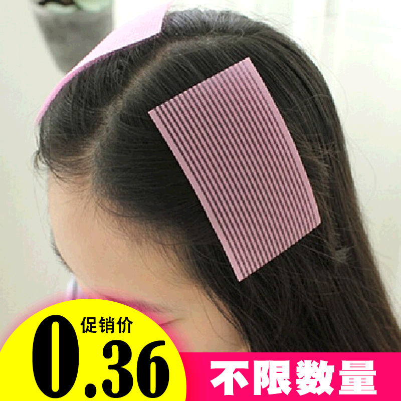 2 пакет черный челка паста волосы фиксированный бесшовный сломанный волосы заметка корея магия паста глава паста корейский аксессуары для волос головной убор