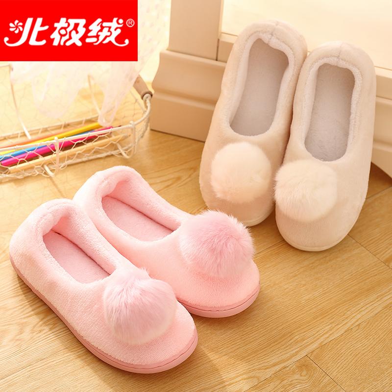 秋 月子鞋薄款包跟軟底孕婦產後女棉拖鞋防滑保暖毛毛拖鞋冬天