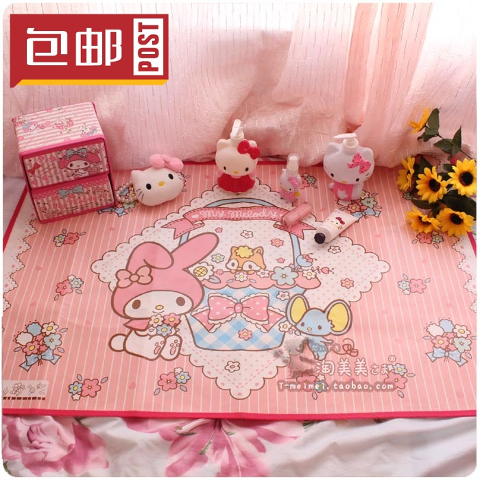 Package mail mailuodi cartoon Meredith picnic mat tablecloth tablecloth table mat outdoor portable waterproof and moisture proof mat