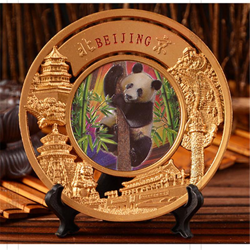 北京纪念品 中国特色礼品摆盘 天安门长城天坛 外事出国商务礼物