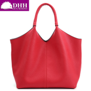 DHH European cow leather casual female simple shoulder bag handbag bag Crossbody bag women's picture pack