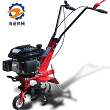 Seaway Micro-tiller Gasoline Soil Loader Mini-tillage Machine Multifunctional Digging and Dumping Machine Agricultural Hoe Rotary Tiller