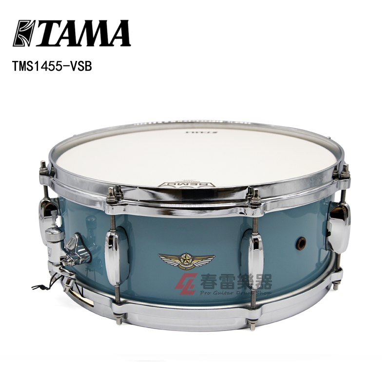 春雷乐器 日产TAMA Star系列 14x5.5 TMS1455-VSB 架子鼓小军鼓