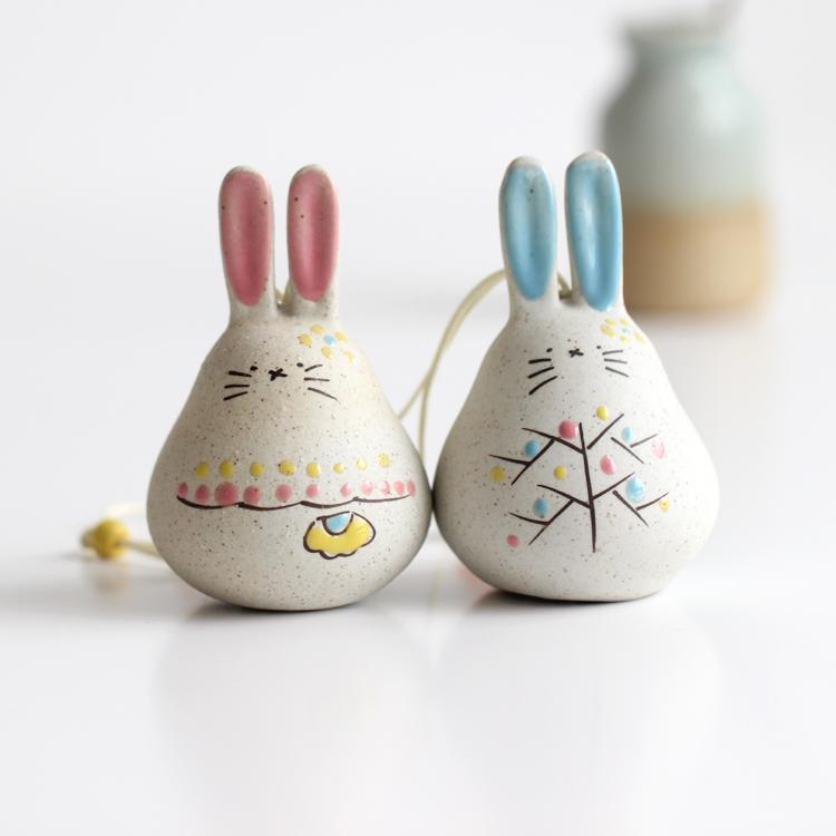 Специальное предложение 【 недолго кролики 】 керамика украшение кулон милый супермэн домой декоративный небольшой аксессуары завод партия