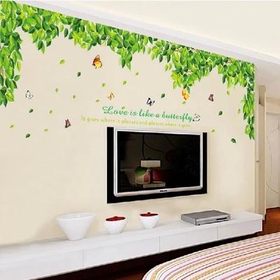 客厅电视背景墙贴壁画卧室装饰墙上贴画房间墙面贴纸自粘大树