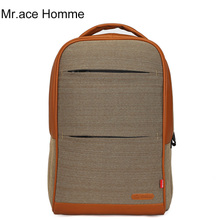 Mr. ACE HOMME new HT - 902 computer sidekicks phone bag vertical square certificate bag backpack