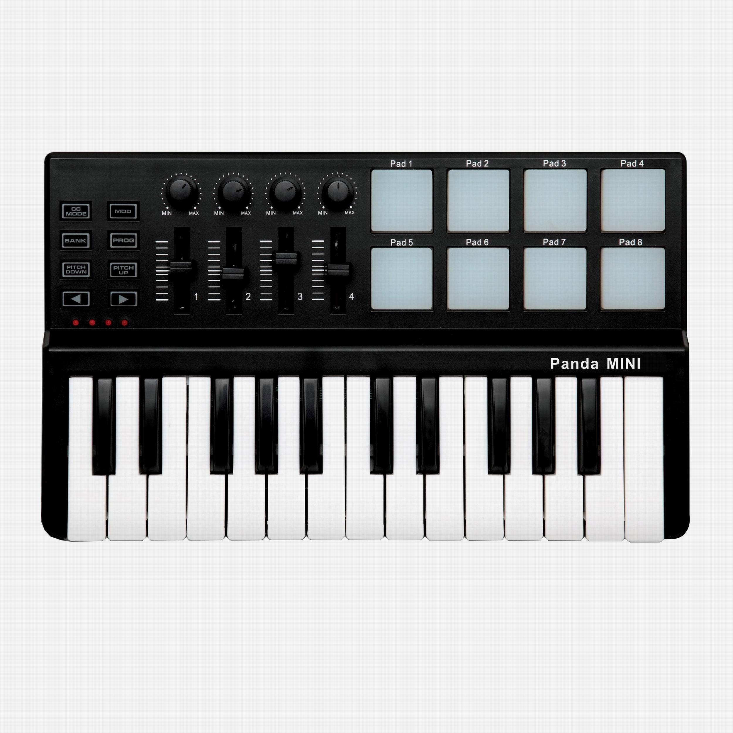PANDA MINI/MIDI клавиатура / контролер /25/49/61/88 связь / музыка клавиатура / мат