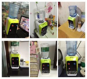 泉佳宝饮水机台式温热迷你饮水机小型饮水机杜绝千滚水送水桶!