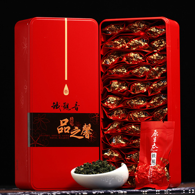 New tea anxi oolong tea bags spring luzhou-flavor tieguanyin tea tin gift boxes 500 grams