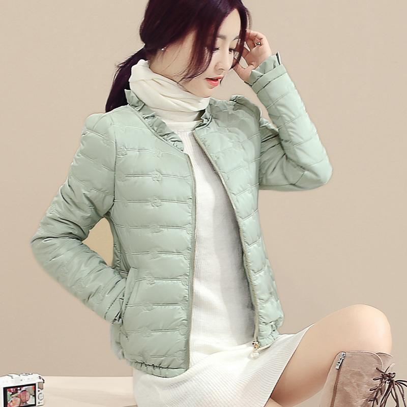Зима зазор женские короткие модель хлопок корейский тонкий женщины подбитый пальто зима тонкий продвижение мало хлопок куртка