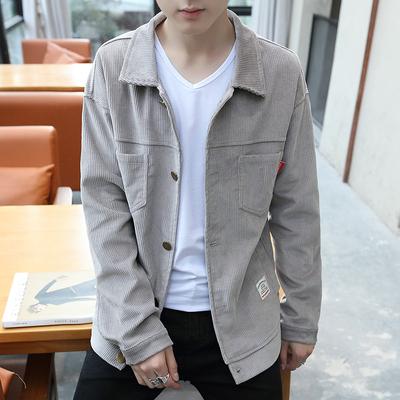 日系大码休闲灯芯绒夹克A029A JK30 P70 男装休闲外套