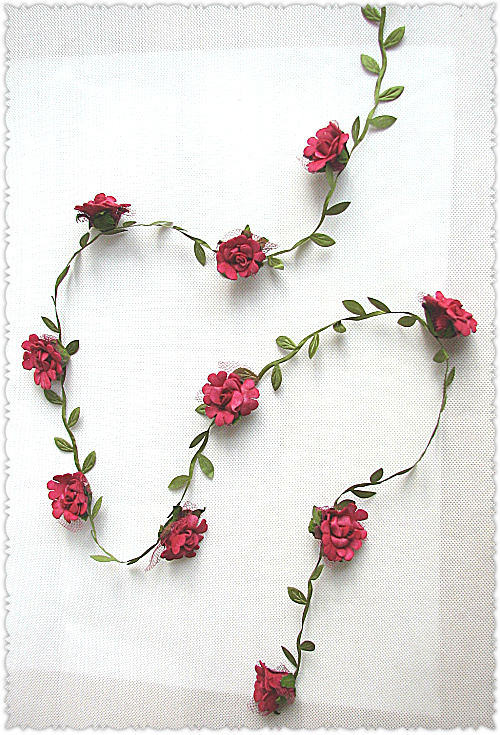Korean single good quality wine red little rose cane long cane full of package mail promotion of artificial flower simulation flowers can be customized