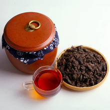 02 The old tea first Pu-erh tea ripe tea Pu 'er tea the old tea first Menghai tea old head!