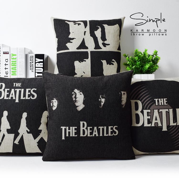 Beatles Beatles подушка подушка Beatles хлопка белья офис диван подушка Обложка